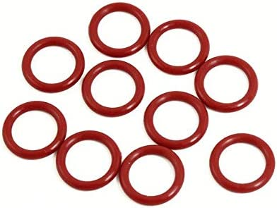 13mm 10mm 6mm 4mm Gimax 10 Pcs 3Mm Thickness Industrial Rubber O Rings Seals Id 12mm 5mm 14mm 15mm Color: E x10 3mmx8mmx14mm 11mm -