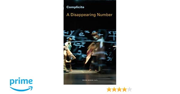 A Disappearing Number (Oberon Modern Plays)