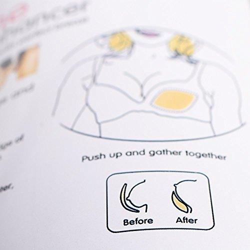 Waterproof Silicone Bikini Breast Bra Gel Inserts Swimsuit Pads Enhancer Bra A to C Cup by Fibevon (Image #4)