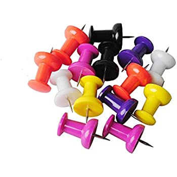 Femitu 12-Piece Super-Jumbo 1-1/2-Inch Push Pins - Get Your Notes Noticed