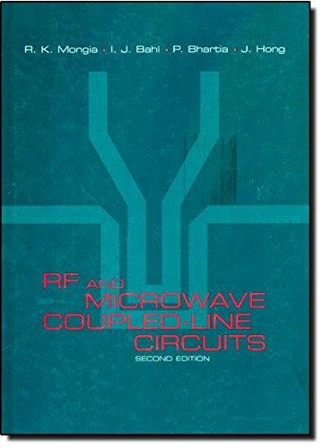 RF and Microwave Coupled-Line Circuits