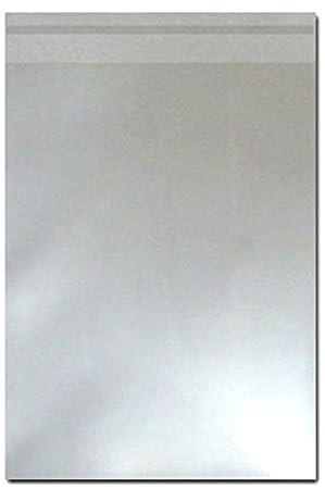 Zellophan-Hüllen zur Aufbewahrung von Grußkarten C6 30 Mikron,...
