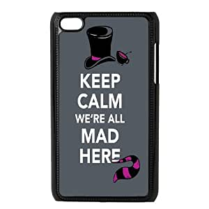 Ipod Touch 4 Phone Case Mad Here Design Z3W4E0375