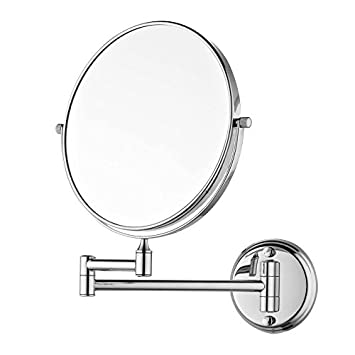 Dolphy Shaving Makeup Mirror (5x Magnifying) - 8 Inch