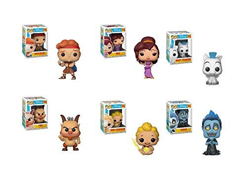 Funko Pop! Disney: Hercules - Hercules, Meg, Phil, Hades, Baby Pegasus and Baby Hurcules
