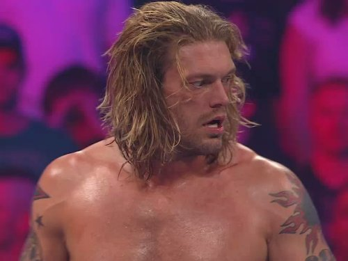 Spear Edge (World Heavyweight Championship Match: Edge Vs. Dolph Ziggler)
