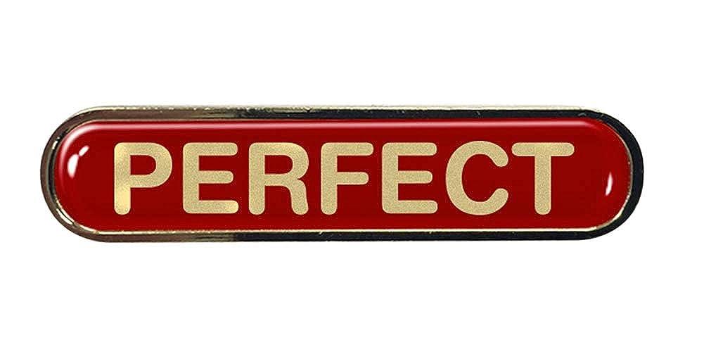 Perfect Comedy Gel Domed School Bar Badge
