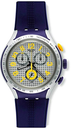 Watch Swatch Irony XLITE Chrono YYS4014 YELLOW PUSHER ()