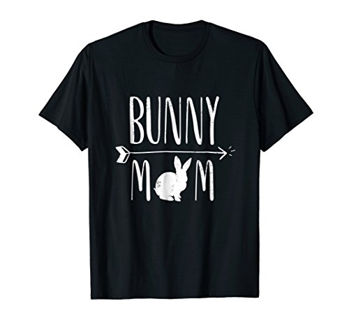 Bunny Mom Funny Bunnies White Rabbit Gift T-Shirt - White