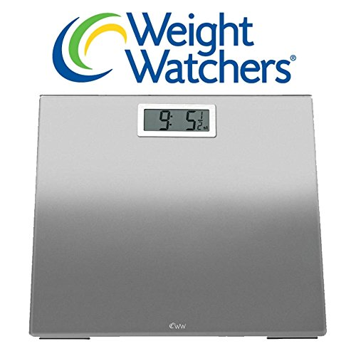 Weight Watchers Ultra Slim Designer Glass Precision Electronic Scale
