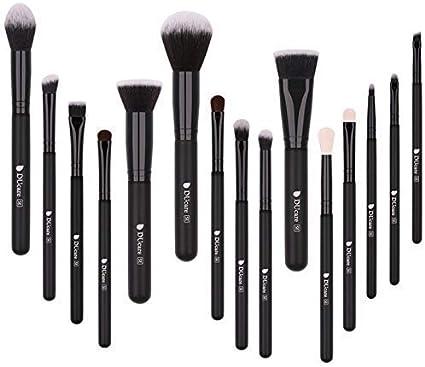 DUcare Brochas de Maquillaje 15 Piezas Premium Brochas Maquillaje ...