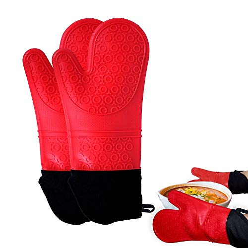 Mosteck Silicone Mitts Cooking Gloves