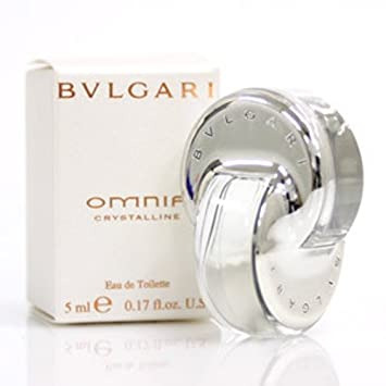 Bvlgari Omnia Crystalline Eau de Toilette Splash for Women, 5 ml