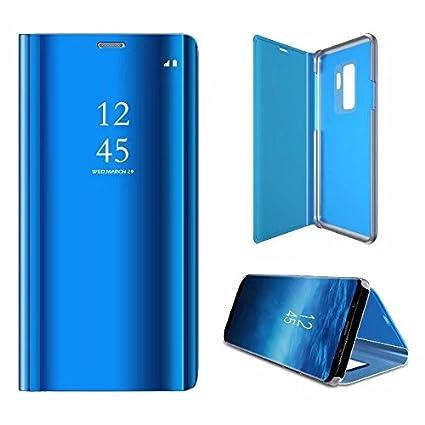 TANGNI Funda Galaxy J6(2018) Carcasa Samsung J6(2018) Carcasa PU Leather con TPU Silicona Case[Protector de Pantalla de Vidrio Templado] Galaxy ...
