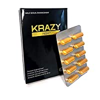 Krazy Night Gold-Best Male Enhancing Natural Performance 10 Capsules New Most Effective...