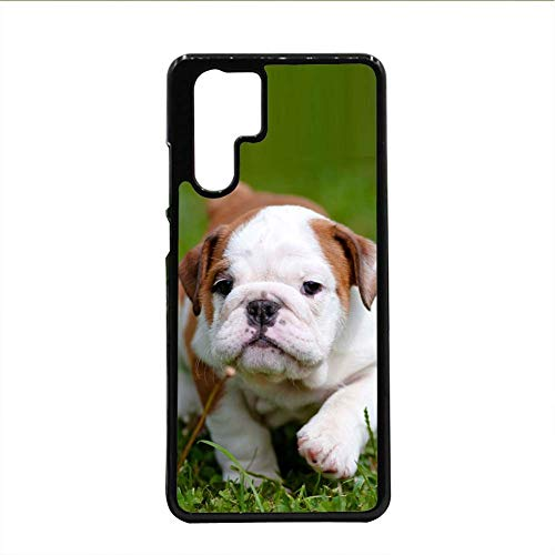 Babu Building for Girl Protector Phone Shell Plastic Print Pit Bull Use As Huawei P30 Pro ()