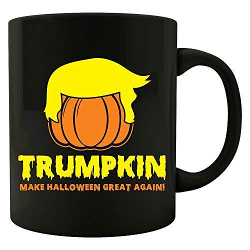 Pumpkin Make Halloween great again funny Gift - Colored Mug ()