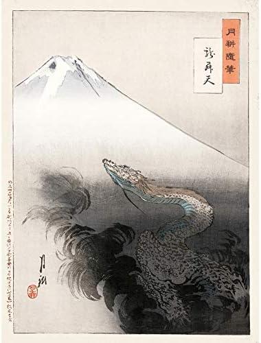 GEKKO RYU SHO TEN WALL ART PRINT POSTER LF3569