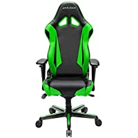 DXRacer OH/RV001/NE Black & Green Racing Series Gaming Chair