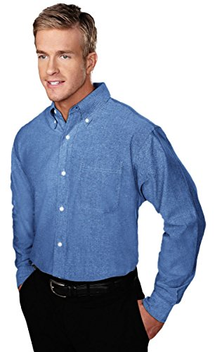 Tri Mountain Stain Resistant Oxford Dress Shirt   750 Techno