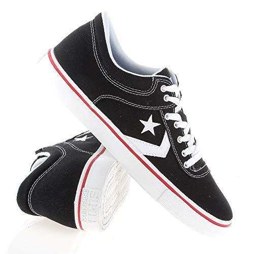 rosso Converse Sneaker Uomo nero Bianco xIwwqnW4