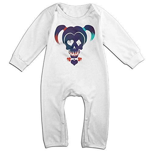 [Ahey Boy's & Girl's Suicide Squad The Little Ugly Long Sleeve Bodysuit Outfits 6 M] (Bay Watch Costumes)