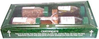 Olive Wood Keepsake with Crucifix