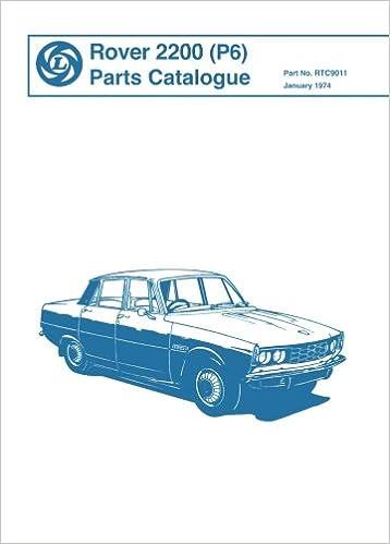 parts manual rover p6