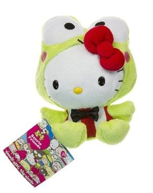 Sanrio Freinds Hello Kitty in Keroppi costume 6 inch -