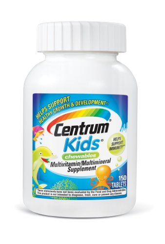 CENTRUM® - KIDS MULTI-VITAMINES ENFANTS - 150 BONBONS
