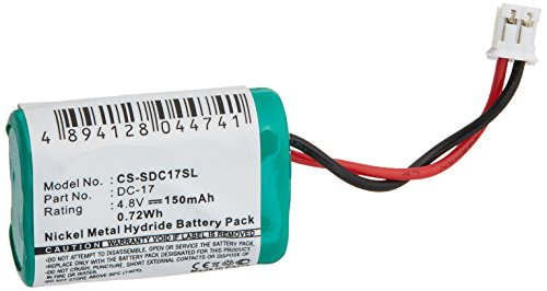 VINTRONS 150mAh Battery For Sport Dog Field Trainer SD-400 Wetland Hunter SD-400, 650-058