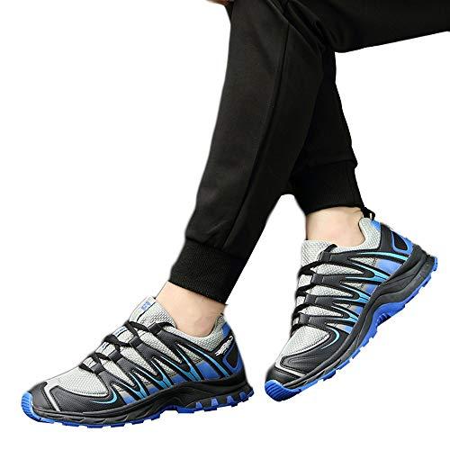 Uomo Uomo Uomo Scarpe Adulti Tennis Traspiranti Antinfortunistica Leggere Leggere Leggere per THORNS Invernale Sneakers Corsa Casual per Scarpe Grigio da Uomo Eleganti da Sportive 57AnUvZ