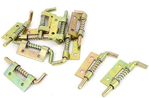 6 piezas aseos con muelles met/álico de seguridad pestillo 5,5 cm