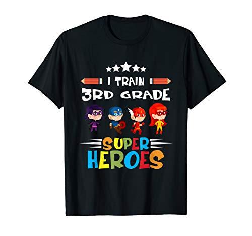 I Train 3rd Grade Super Heroes Teacher Team
