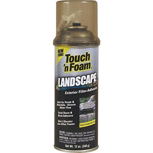 Touch 'n Foam Landscape Repair Filler-Sealant-Adhesive by Convenience by - Landscape Foam