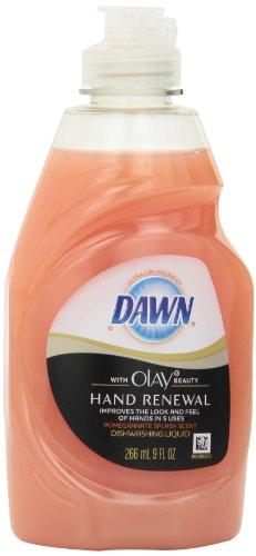 Рассвет Ultra Hand обновления Жидкость для мытья посуды с Olay красоты граната Всплеск Запах, 9 унций (в упаковке 12)