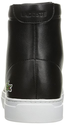Lacoste Heren L.12.12 Midden 316 1 Cam Fashion Sneaker Zwart