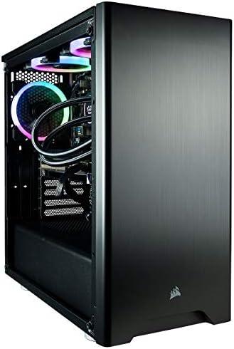 CUK Sentinel Black Gaming PC (Liquid Cooled Intel i9-9900KF, 32GB RAM, 1TB NVMe SSD + 2TB HDD, NVIDIA GeForce RTX 2080 Ti 11GB, 750W Gold PSU, Windows 10) Best Tower Desktop Computer for Gamers 6