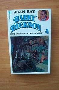 Book's Cover ofHarry Dickson - Intégrale tome 4 : Le lit du diable - Le fantôme du juif errant - Le vampire aux yeux rouges - Les vengeurs du diable - La tête à deux sous