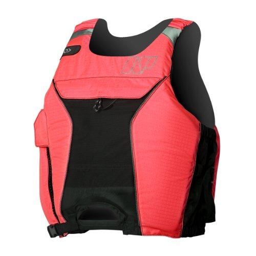 NP Surf High Hook Flotation Vest, Red/Black, Medium/Large