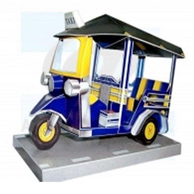 Amazing Thailand 3D Puzzle Tuk Tuk Taxi Thai