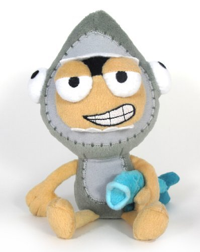 Poptropica 7 Inch Plush Figure Shark Boy (Poptropica Toys)