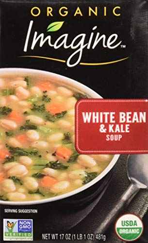 Imagine Organic White Bean and Kale Soup, 12 Count