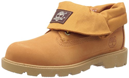 Timberland Roll-Top Single Shot Boot (Toddler/Little Kid/Big Kid), Wheat Nubuck, 5.5 M US Big Kid by Timberland