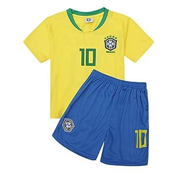 zhuzhuyi Camiseta De Fútbol Baby Ball Suit Suit Boy Niños Summer Dress Copa del Mundo Fútbol