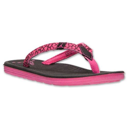 Nike Girls Women's Jordan Flip Flops GG Sandals Size 6Y Black/Pink by NIKE