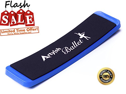 Artyish Turning Board for Dance & Figure Skating. Ballet Board, Pirouettes Spin Board for Dancers, Improve Your Balance and Turns, Perfect Training Practicing Tool, Kids Birthday
