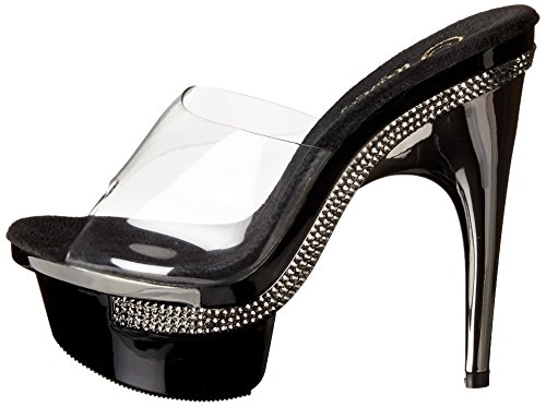 blk Pleaser 601 Uk Royal 37 4 eu Clr CUHq1t