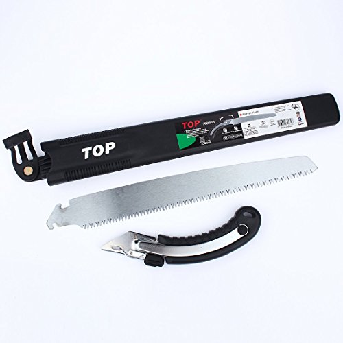 Heavy Duty Pruning Saw,Comfort Handle with Saw Blade Enclosure - Japanese Style Hand Saw - Perfect for Trimming Trees, Plants, Shrubs, Wood, and More! by Durmiles (Image #6)