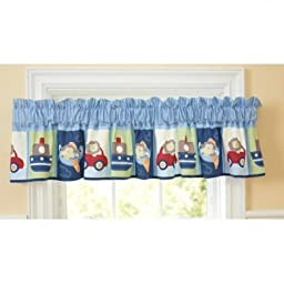 Carters Child of Mine Boys Boys On The Go Window Nursery Valance